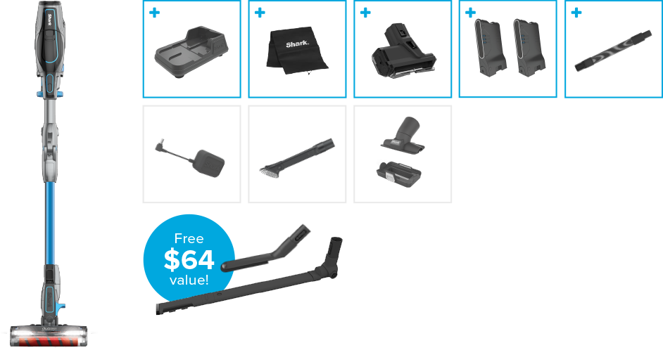 Exclusive Offer Shark 174 Ionflex Duoclean Cordless Ultra